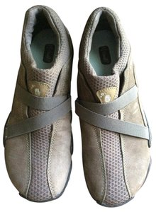 Teva Women's Mesh Hiking Suede Olive, Brown and Grey Athletic