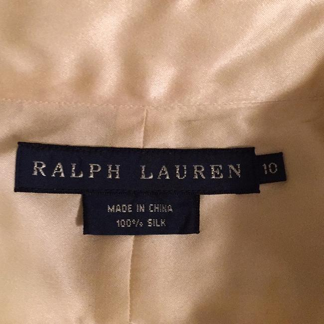 Ralph Lauren Blue Label Button Down Shirt Cream Image 2