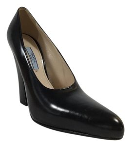 Prada Patent Penny Lane Black Pumps