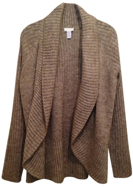 Preload https://item5.tradesy.com/images/chico-s-taupe-sweaterpullover-size-8-m-1768079-0-0.jpg?width=400&height=650