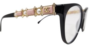 Chanel Chanel Pink Cat Eye Pearl Optical Eyeglasses 3327HB C1325