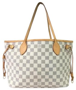 Louis Vuitton Lv Neverfull Lv Neverfull Pm Tote in White