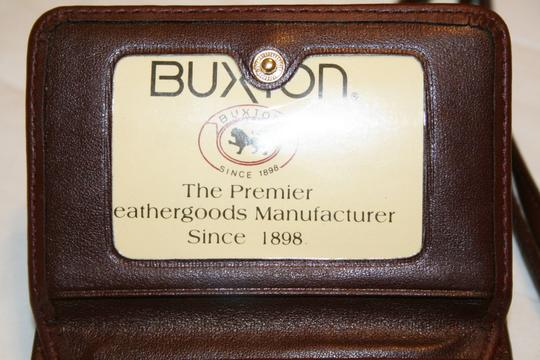 Buxton Leather Wallet Cross Body Bag