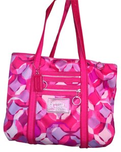 Coach Pink Large Tote