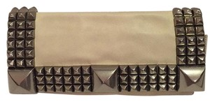Betsey Johnson Cream Clutch