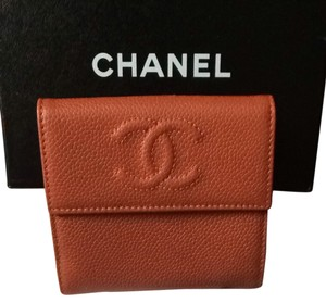 Chanel Chanel S-Double Caviar Wallet