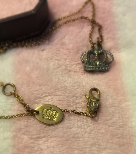Juicy Couture Juicy Crown Necklace