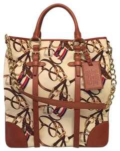 Ralph Lauren Collection Tote in Cream Multi