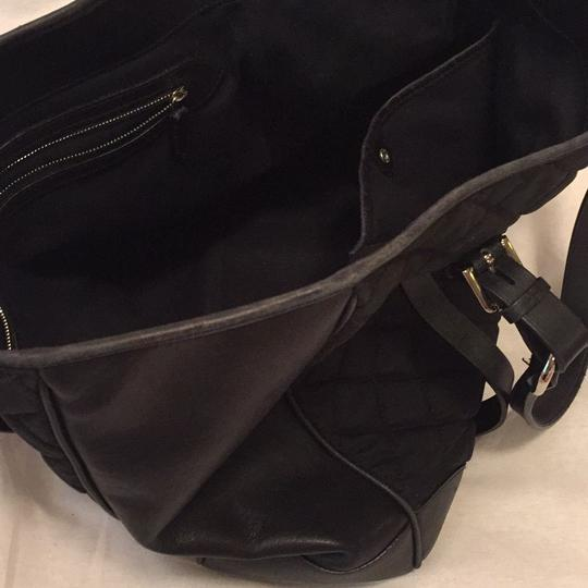 Ralph Lauren Collection Tote in Black Image 6