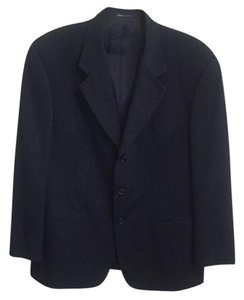 Valentino Men's Three-Button Size 40 Black Sport Coat