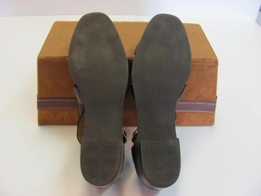 Calico Size 8.00 Narrow Leather Very Good Condition Brown Sandals Image 4