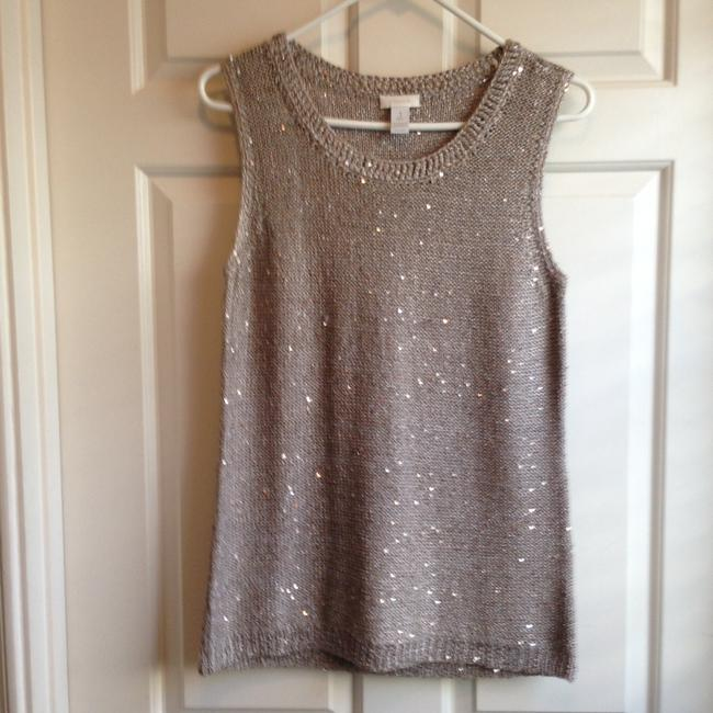 Chico's Top Taupe