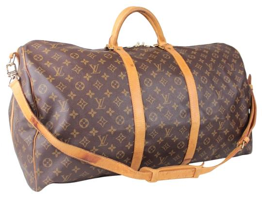 Preload https://item1.tradesy.com/images/louis-vuitton-keepall-bandouliere-60-with-strap-lock-and-key-brown-monogram-weekendtravel-bag-1768395-0-0.jpg?width=440&height=440