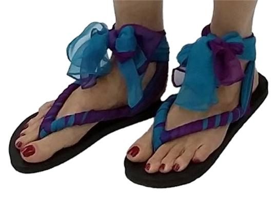 Preload https://item2.tradesy.com/images/magenta-and-turquoise-ombre-ankle-tie-scarf-flip-flops-sandals-size-us-8-regular-m-b-1768456-0-0.jpg?width=440&height=440