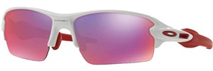 Oakley Oakley OO9271-04 Men's Flak 2.0 White / Prizm Road Lens Sunglasses New In Box