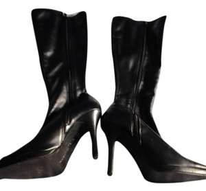 Laundry by Shelli Segal Leather black Boots