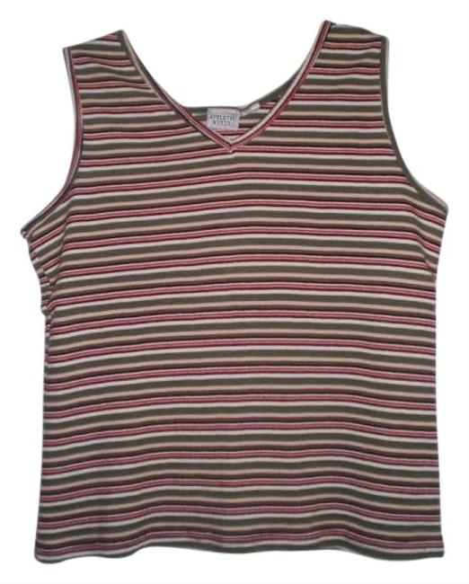Preload https://img-static.tradesy.com/item/176857/athletic-works-like-new-striped-tank-topcami-size-16-xl-plus-0x-0-0-650-650.jpg