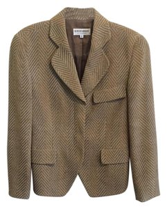 Giorgio Armani Jacket Tan and brown Blazer