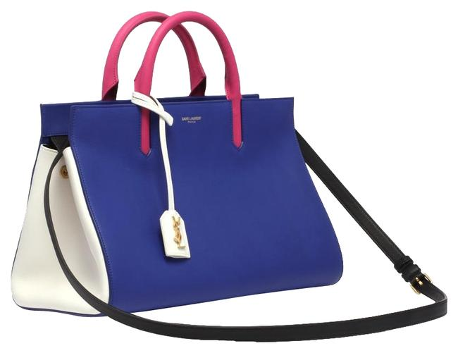 Item - Cabas Rive Gauche Small Multicolor Leather Satchel