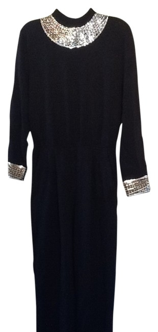 Item - Black Evening By Marie Gray Long Cocktail Dress Size 6 (S)
