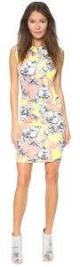 Torn by Ronny Kobo Floral Shift Floral Bodycon Dress