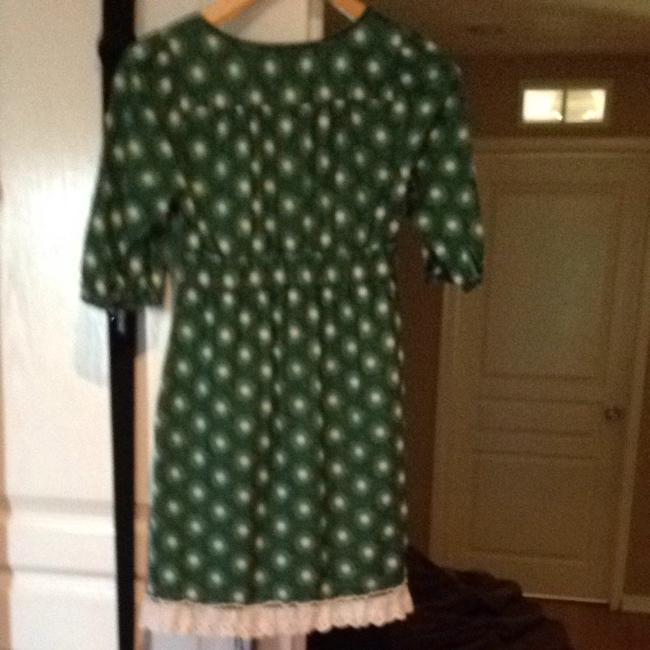 Juicy Couture short dress Green/wht/blk on Tradesy