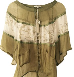 Trinity Button Down Shirt Khaki green