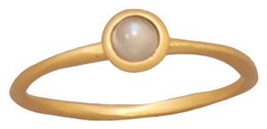 Other 14 Karat Gold Plated Sterling Silver Moonstone Ring