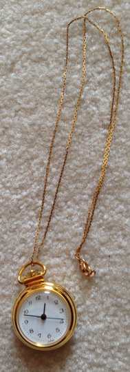 Other 14 K 20 in. Gold Chain with Watch Pendant