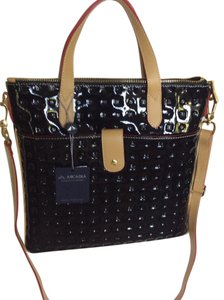 Arcadia Patent Leather Made In Italy Tote in Black, Tan, Red