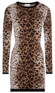 RED Valentino short dress leopard on Tradesy
