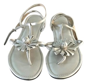 Cole Haan White gold Metc Sandals
