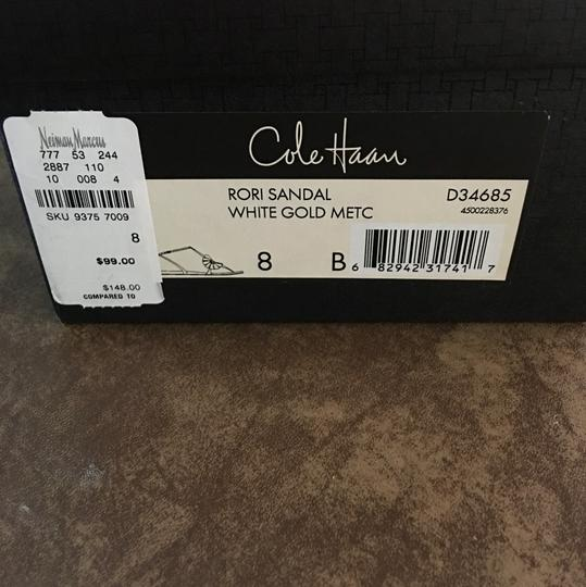 Cole Haan White gold Metc Sandals Image 1