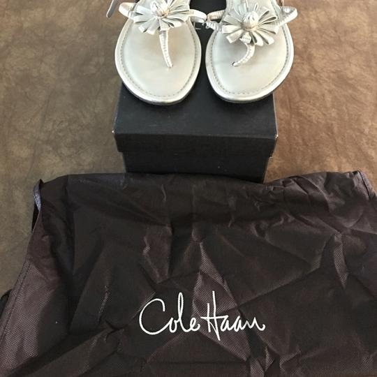 Cole Haan White gold Metc Sandals Image 2
