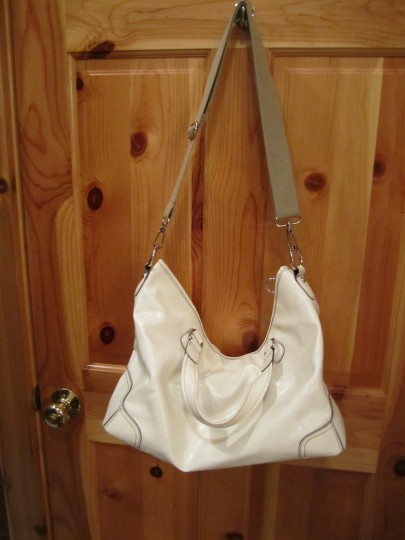 Nine West Purse Silver Handbag Shoulder Bag