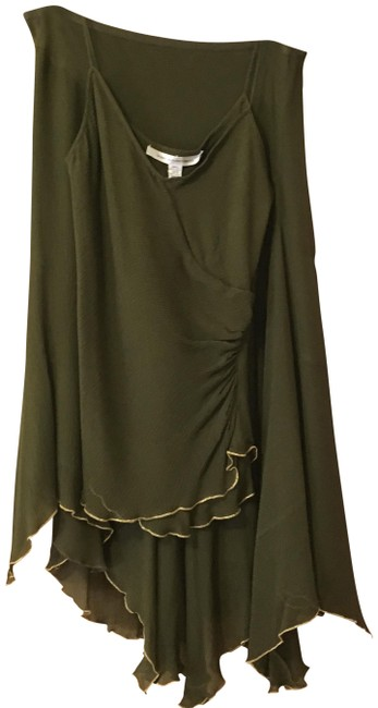 Item - Olive Green Mid-length Night Out Dress Size 8 (M)