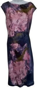 Suzi Chin for Maggy Boutique Floral Sleeveless Dress