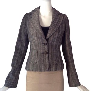 Banana Republic Black/ white/ lavender Blazer