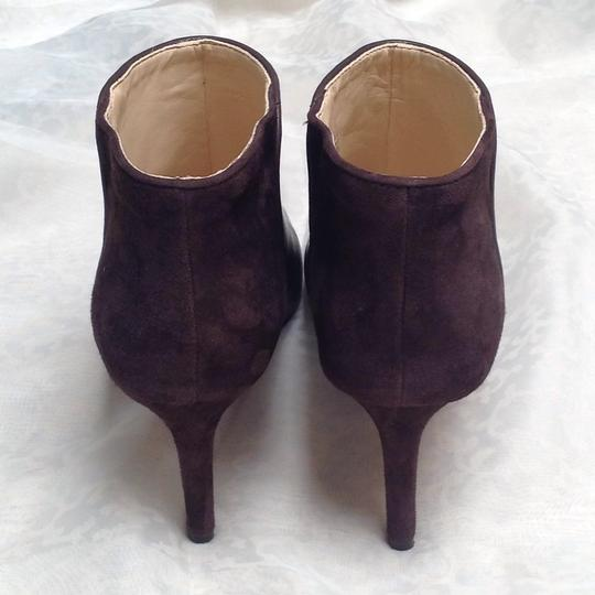 Nine West Dark Brown/ Combo Leather and Suede (Back) Boots Image 3