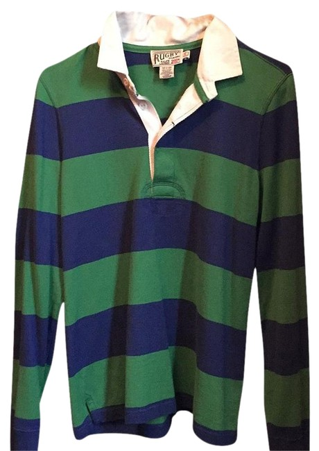 Preload https://img-static.tradesy.com/item/17690596/rugby-ralph-lauren-po75569-blue-and-green-sweater-0-2-650-650.jpg