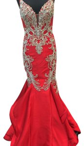 Macduggal pageant Dress