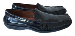 Donald J. Pliner Black Patent Leather Flats