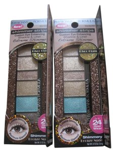 Physicians Formula Physicians Formula Shimmer Strips Extreme Shimmer Custom Eye Enhancing Shadow & Liner, Bronze Nude 6633 - Lot of 2