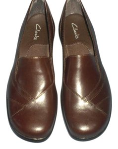 Clarks Slip-ons Comfort Brown Pumps