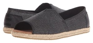 TOMS (new in box) New TOMS Black Metallic Flats
