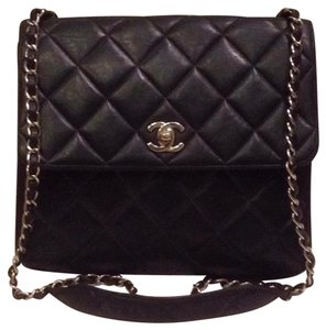 Chanel Quilted Classic Flap Jumbo Cross Body Bag