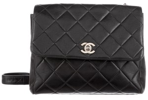 Chanel Quilted Classic Flap Jumbo Square Cross Body Bag