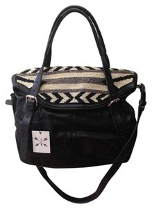 Tylie Malibu Boho Crossbody Ikat Beaded Shoulder Bag