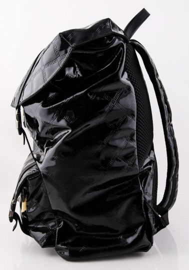 Versace Gianni Patent Leather Backpack Image 1