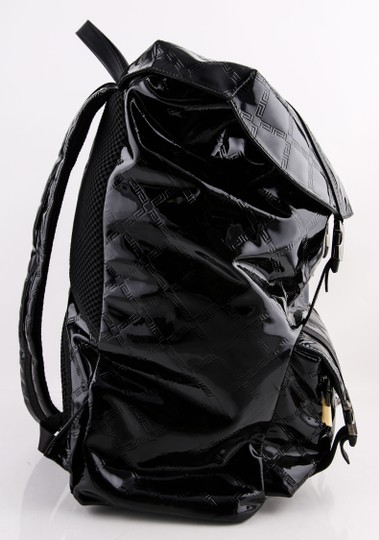 Versace Gianni Patent Leather Backpack Image 2